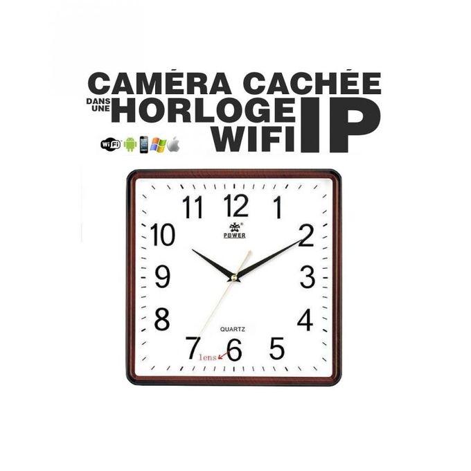 top tech horloge cam ra espion wifi acc s distance acheter en ligne jumia maroc. Black Bedroom Furniture Sets. Home Design Ideas
