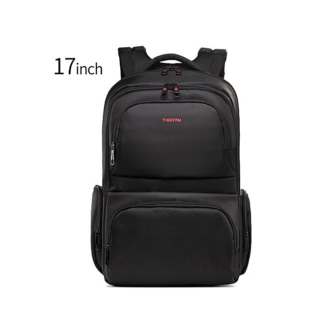Generic Waterproof 15.6 Inch Laptop Backpack Leisure School Backpacks Bags For Mens noir à prix pas cher