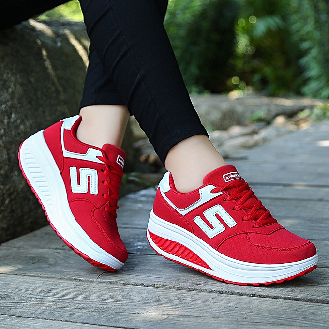 Fashion Leather breathable casual sports chaussures femmes à prix pas cher    Jumia Maroc
