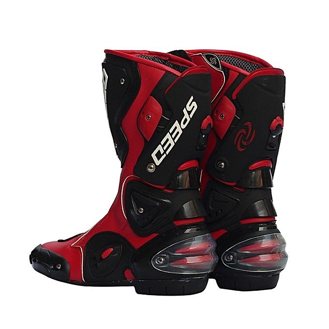 Fashion Pro-Biker Fiber Leather Motorcycle Off Road Racing Boots à à à prix pas cher  | Jumia Maroc c6aaf3