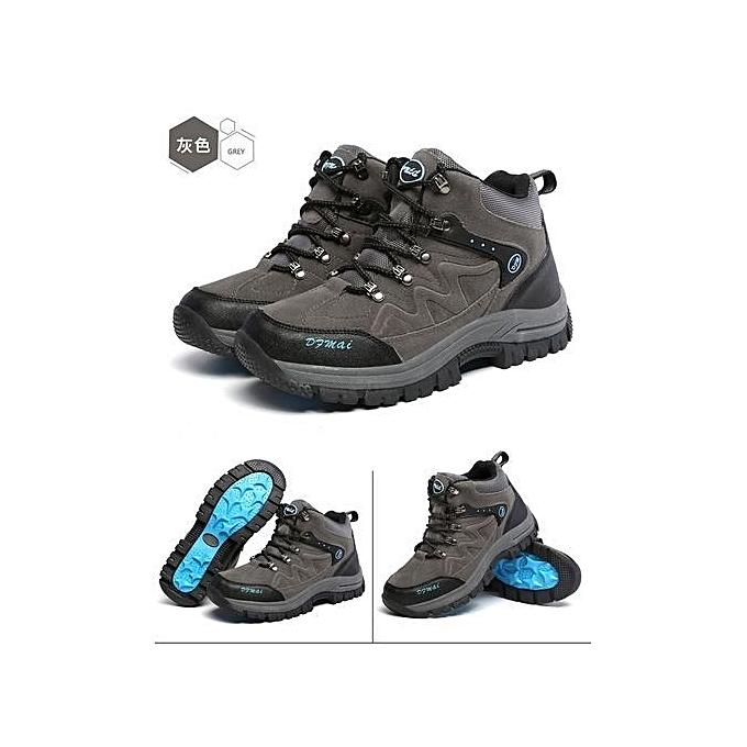 Glorystar Refined Super Large Size Climbing Climbing Climbing Shoes  's High Shoes Casual Skidproof Shoes Thick Sole Keep Warm à prix pas cher  | Jumia Maroc 68d597