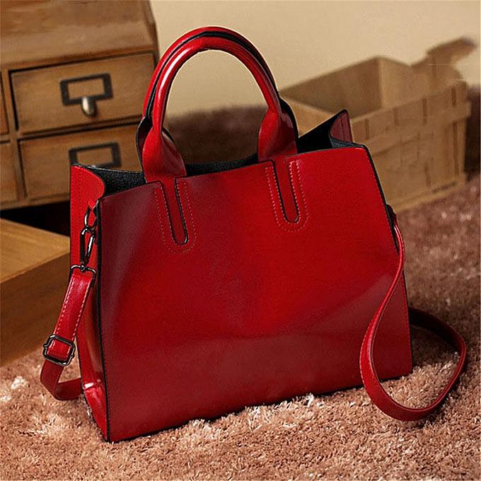 mode femmes Ladies cuir sac Handsac bourse Messenger Shoulder bandoulière sac Tote HOT  rouge à prix pas cher