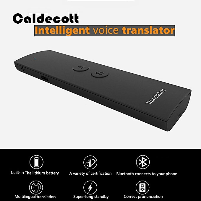 Other New Portable Smart Speech Translator Two-Way Real Time 30 Multi-Language Translation For Learning Travelling Business Meeting ASQOA à prix pas cher
