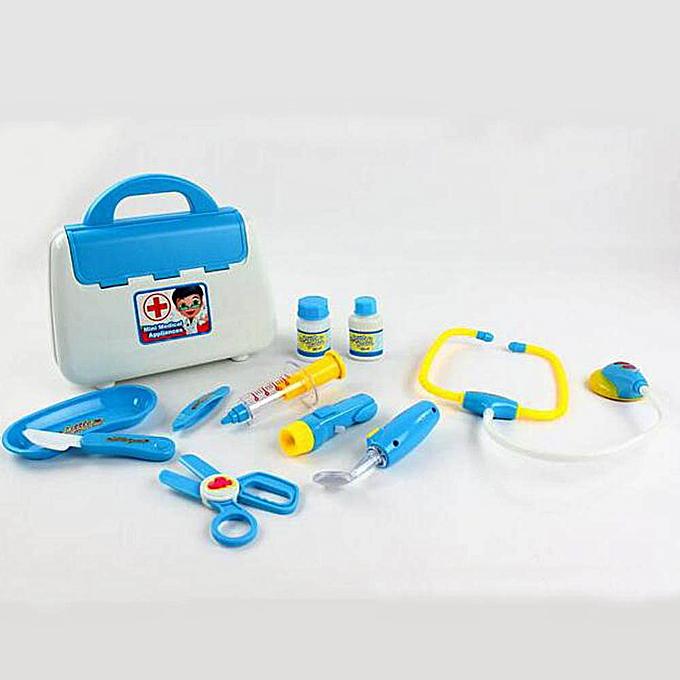 Generic Play Doctor Pretend Medical Set Kit Case Educational Role Playset Gift For Enfants à prix pas cher