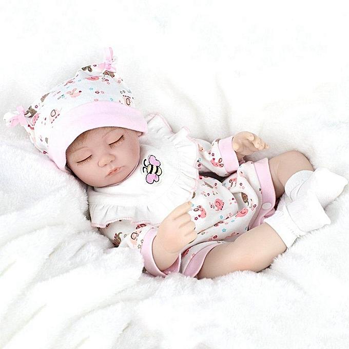 UNIVERSAL 16'' Handmade Realistic Reborn   Dolls Lifelike Vinyl nouveauborn   Dolls Gift à prix pas cher