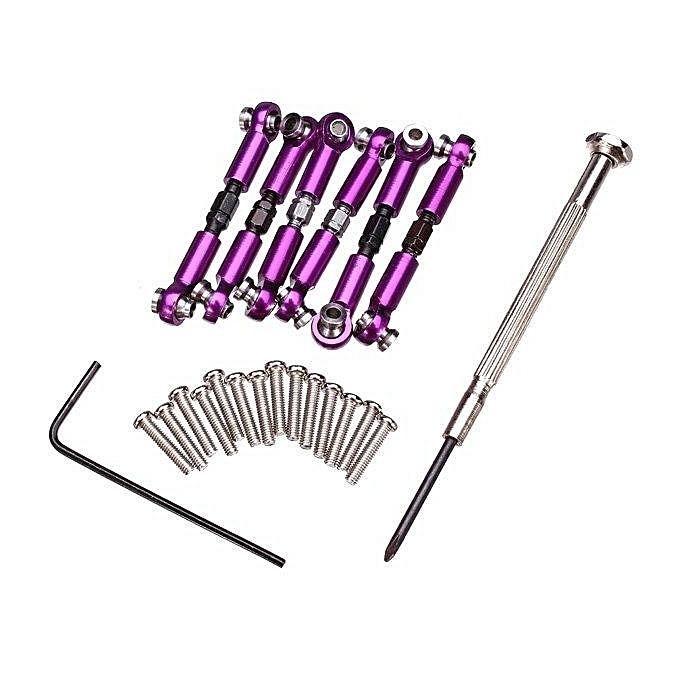 UNIVERSAL Wltoys A959 A969 A979 K929 Metal Set RC voiture Spare Parts violet à prix pas cher