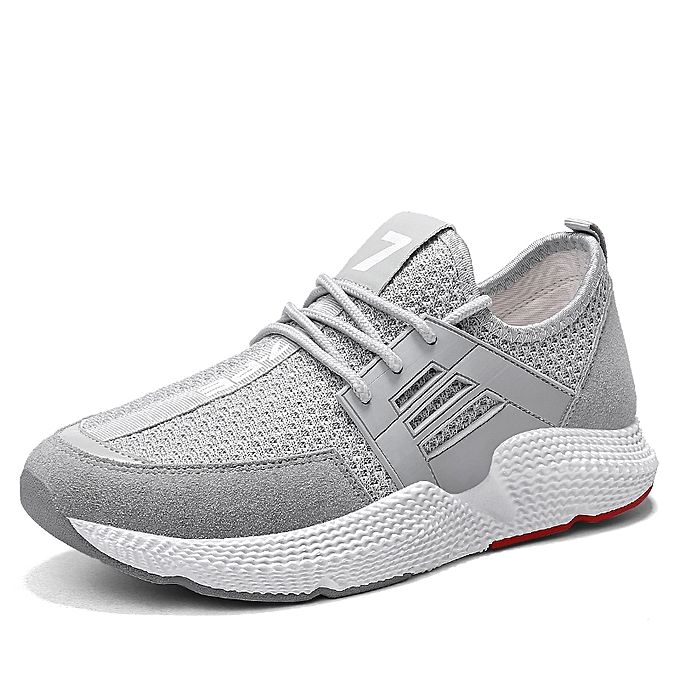 99d81ca087ee8 Tauntte Air Mesh Sneakers For à Trends Running Shoes (Grey) à prix pas cher