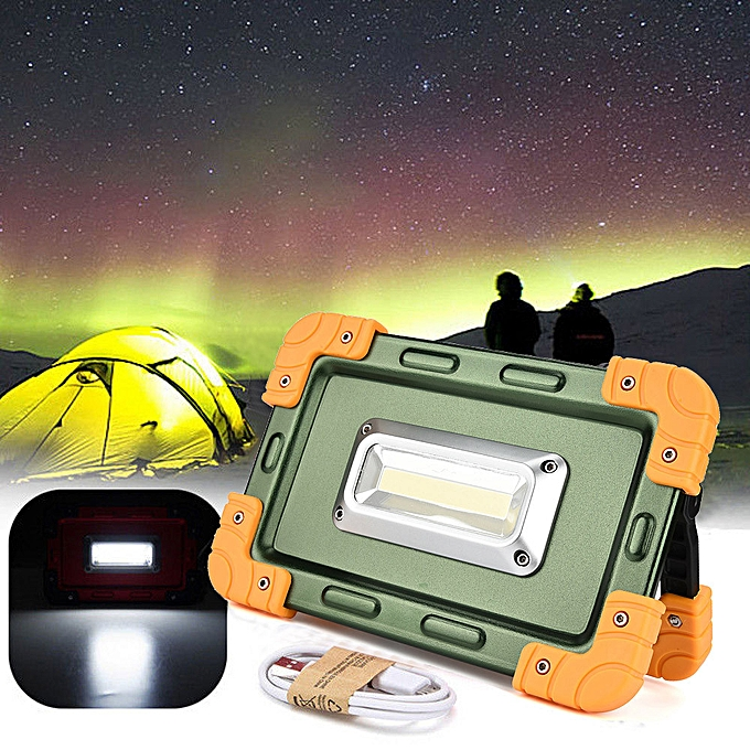 GENERAL quanxinhshang 30W USB COB LED Portable Rechargeable Flood Light Spot Work Camping Outdoor Lamp à prix pas cher