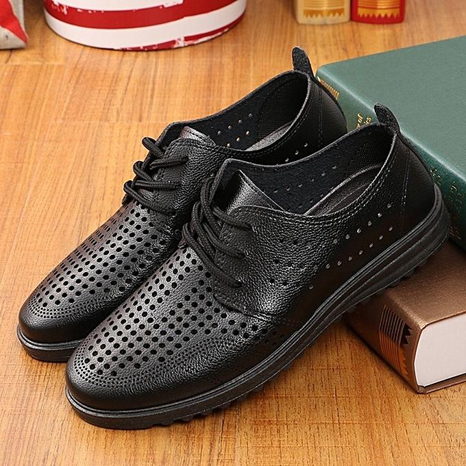 Autre Summer  's 's  Hollow Business Leather Shoes à prix pas cher  | Jumia Maroc 78a962