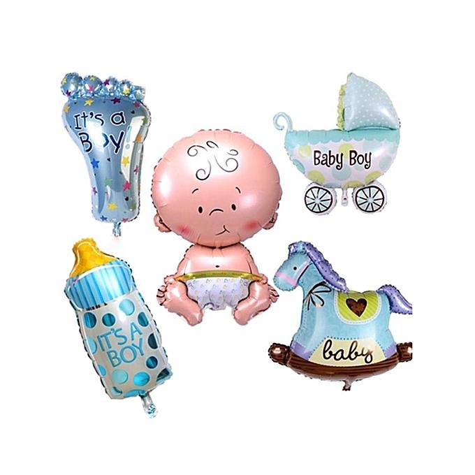 Sunshine Le film en aluminium de garçon ou de fille forme la décoration de ballons joue des cadeaux de fête d'anniversaire-Garçon bleu) à prix pas cher
