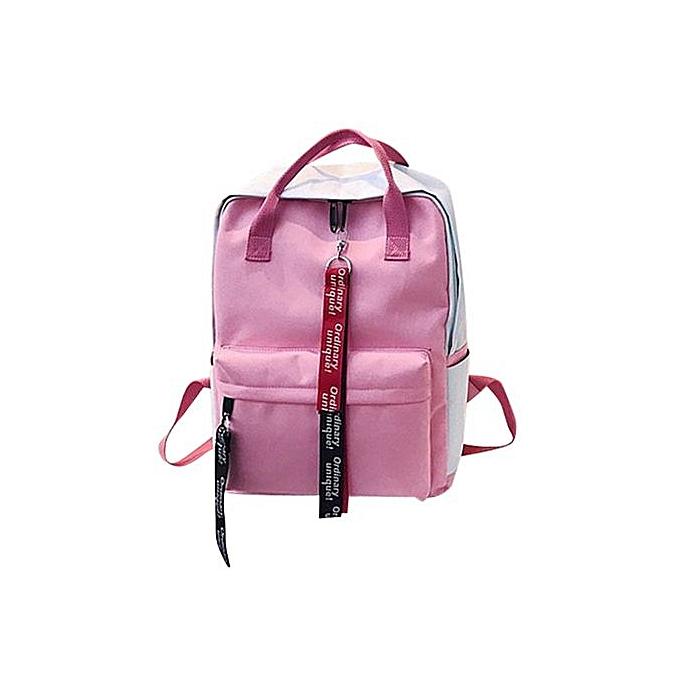 mode Xiuxingzi Leisure Zipper sac Student sac à dos Folding sac Couple voyage sac Shoulder sac à prix pas cher