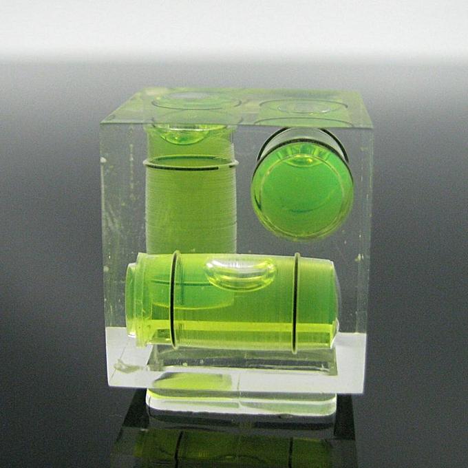 Autre QASE Square Acrylic Spirit Mini Level Bubble Camera Bubble Level for Nikon Samsung  1pcs(One Direction) à prix pas cher