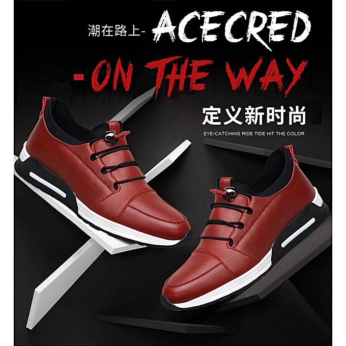 Fashion Men's spring sports chaussures chaussures student running chaussures-rouge à prix pas cher    Jumia Maroc