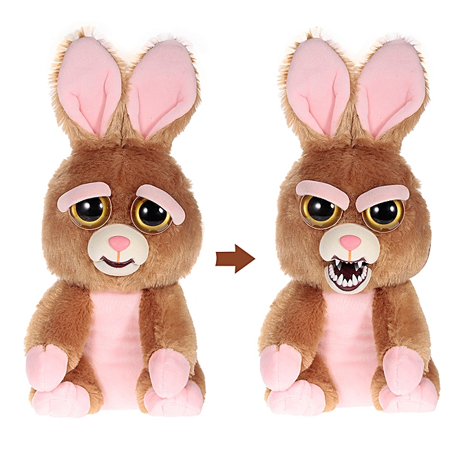 Autre Sir Vicky Vicious Feisty Films Adorable Plush Stuffed Toy Bunny Turns Feisty with a Squeeze à prix pas cher