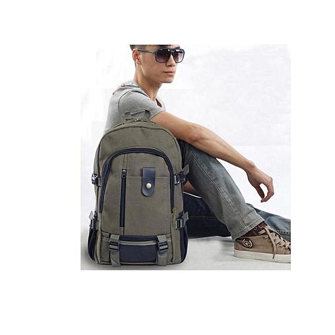 Fashion Tectores femmes Fashion Simple Double-Shoulder Canvas Backpack Schoolbag Hot AG à prix pas cher