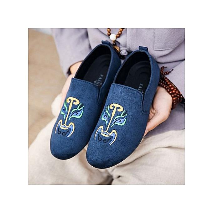 OEM New hommes casual chaussures tide chaussures peas chaussures-bleu à prix pas cher    Jumia Maroc