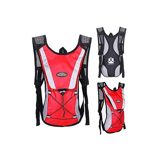 Generic Xiuxingzi_Water Bladder sac sac à dos Hydration Pack Hiking Camping 2L RD à prix pas cher