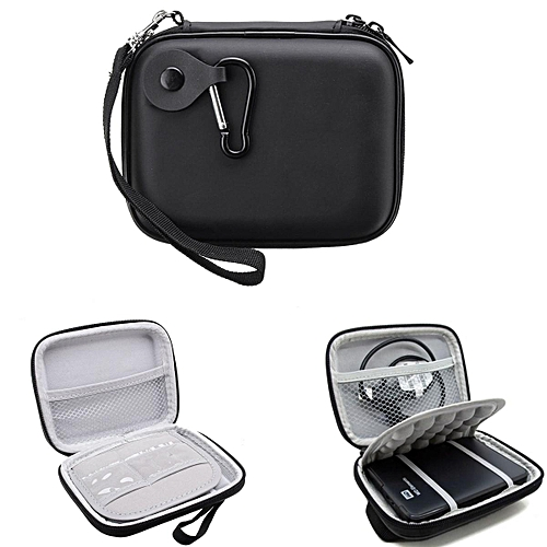 a9c9bd4d96a96 Black Shockproof Hard Travel Case Bag For WD Seagate External HDD Hard Drive