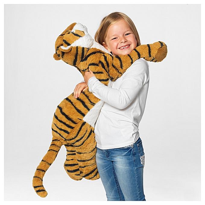 Ikea Peluche DJUNGEL Tigre pour enfants Long 70 cm à prix pas cher