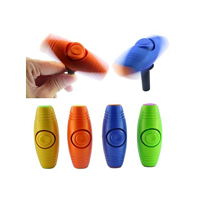 UNIVERSAL 2 IN1 Fidget Roller Stick Flip Trick Stress Relief Focus Desk Toys Anxiety bleu à prix pas cher