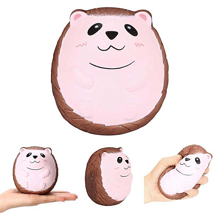 OEM Squishy Cute Hedgehog Scented Charm Slow Rising Squeeze Stress Reliever Toy à prix pas cher