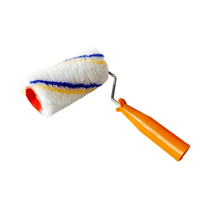 UNIVERSAL 6  Brush Tool Latex Paint Hair Rollers Paint Roller Brushe for Home Improvement Tools à prix pas cher