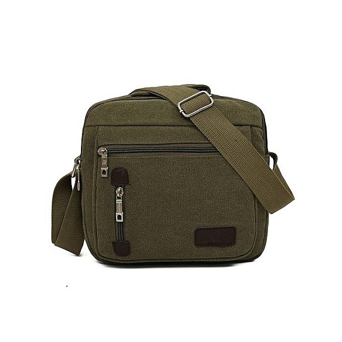 Generic Men Bag Vintage Business Messenger Bags Shoulder Crossbody Bag Men Male Bag AG à prix pas cher