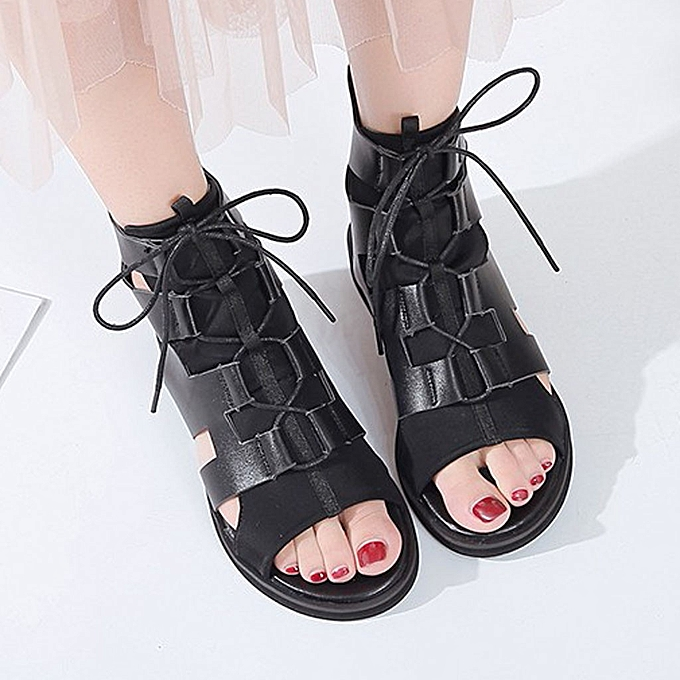Fashion jiahsyc store femmes Summer Straps With Thick Fish Mouth Rohomme Open Toe Sandals chaussures 35-42 à prix pas cher