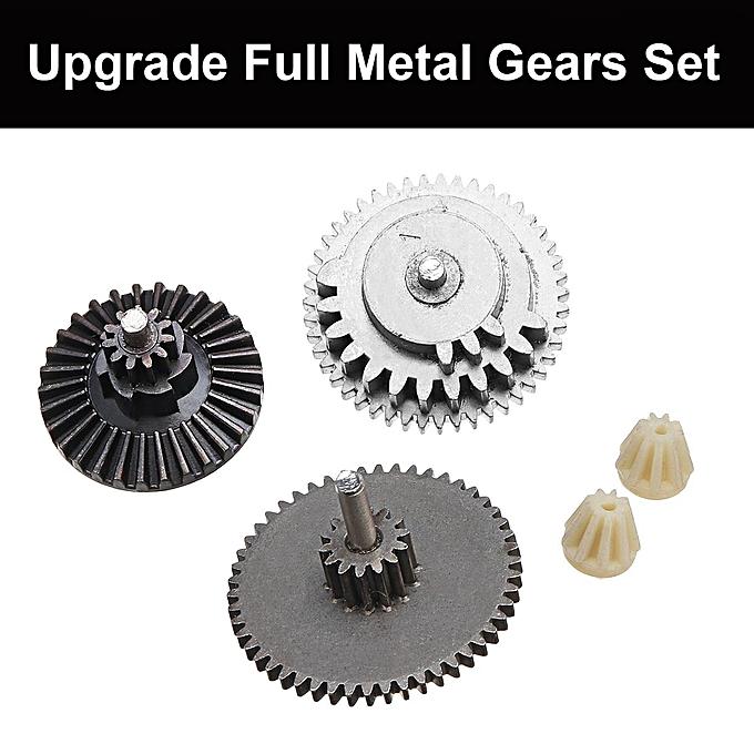 UNIVERSAL Upgrade Full Metal Gears Set Gearbox Gel Blaster MKM2 M4 Svoiture AK à prix pas cher