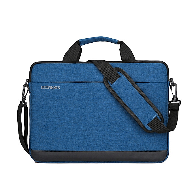 OEM 11 inch Men's Business Laptop Bag Lady Shoulder Notebook Bag-bleu à prix pas cher