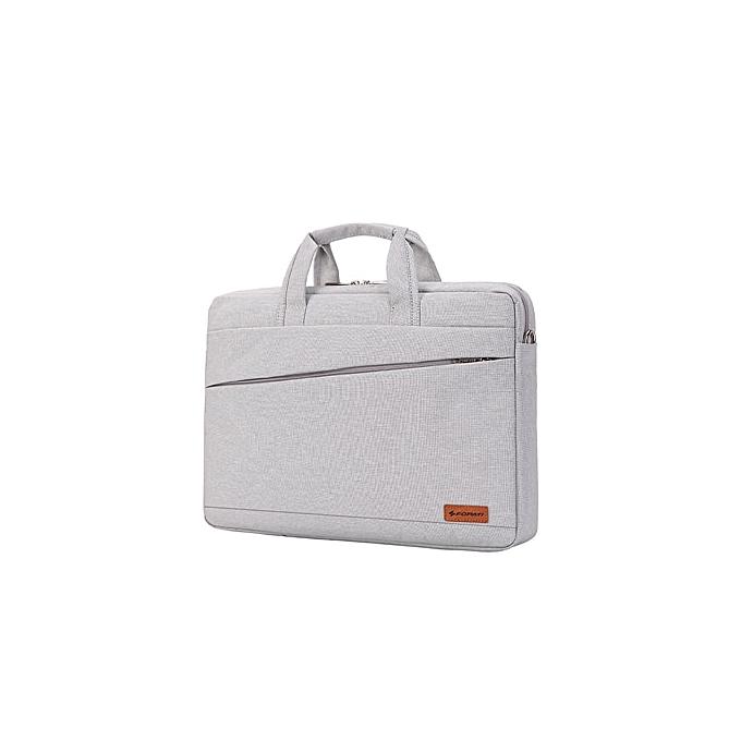 Other Kissyenia Waterproof Laptop Briefcase Men femmes 13 14 15inch Computer Bag Business Travel Laptop Case Flight Shoulder Bag KS1251(blanc-15inch) à prix pas cher