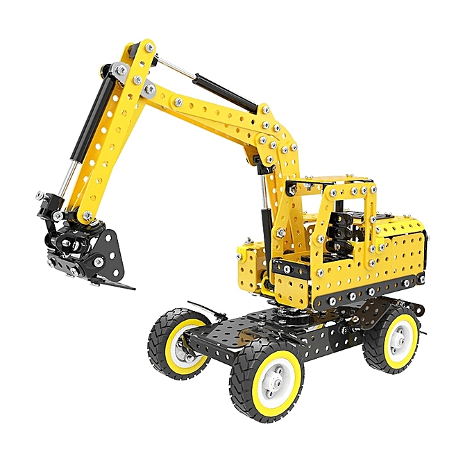 UNIVERSAL MoFun SW-007 502 PCS DIY acier inoxydable Excavatorembling Blocks à prix pas cher
