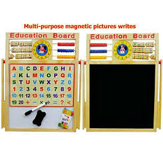 Generic Multi-usages écrit planche images magnétiques pour enfants + 3 ans à prix pas cher