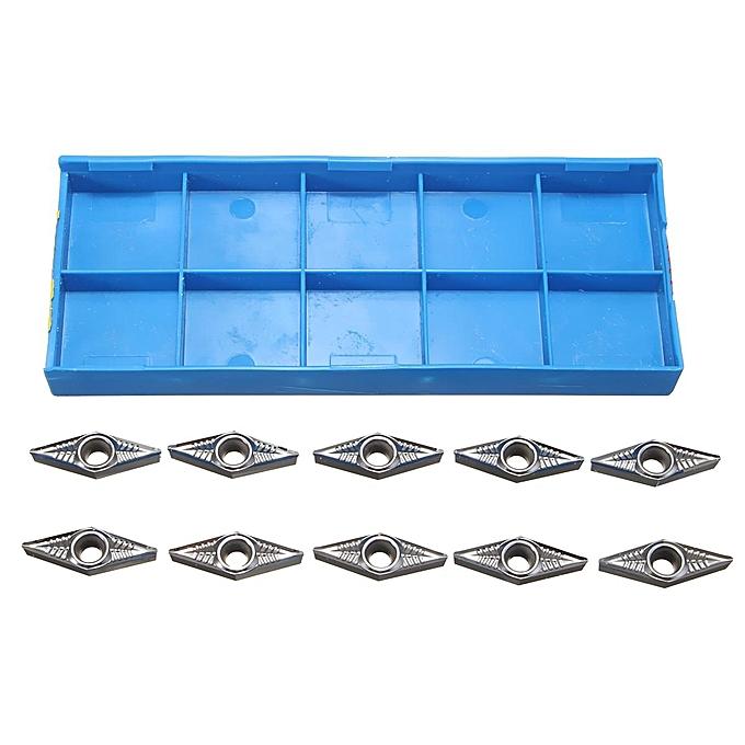 UNIVERSAL 10Pcs Aluminum Carbide Inserts VCGT160408-AK H01 VCGT332-AK for CNC Lathe Tool à prix pas cher