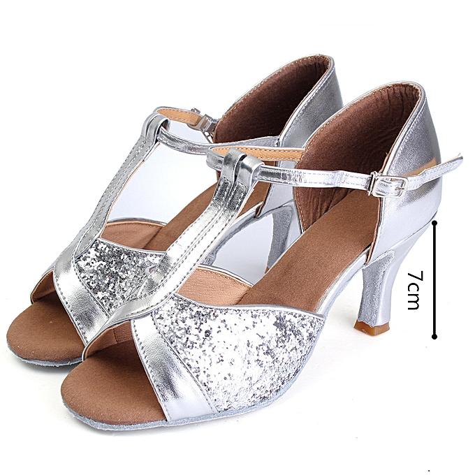 Fashion femmes Girl Ballroom Latin Tango Salsa Tango Dance chaussures à prix pas cher