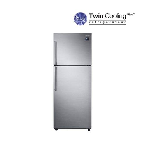 samsung r frig rateur avec cong lateur en haut twin cooling plus 390 l silver acheter. Black Bedroom Furniture Sets. Home Design Ideas
