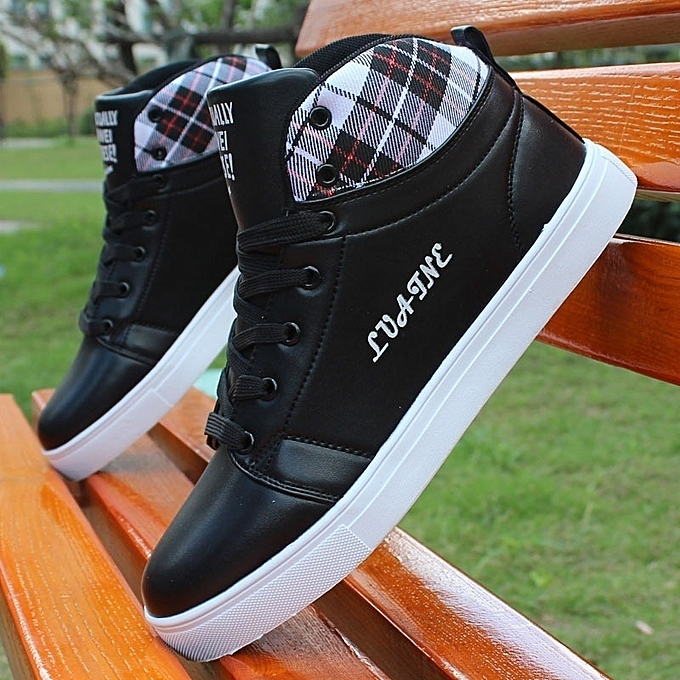 Other Stylish Leisure Korean Letters blanc chaussures for Men à prix pas cher