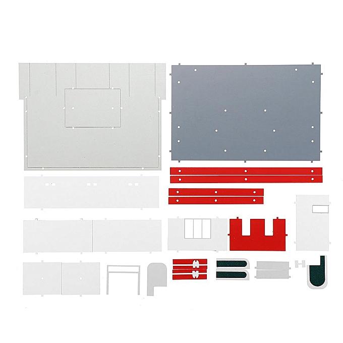 "OEM The Old Tree 1 50 Scale ""Gas Station"" Model Building Kit Scenery DIY Model ""Car Was"" Model à prix pas cher"