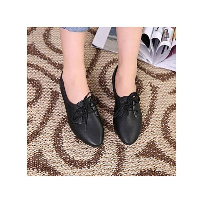 Fashion Xiuxingzi  femmes Flats chaussures Slip On Comfort chaussures Flat chaussures Loafers BK 35 à prix pas cher    Jumia Maroc