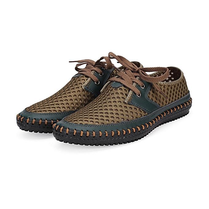 Fashion Mens Breathable Flexible Low Top chaussures baskets à prix pas cher