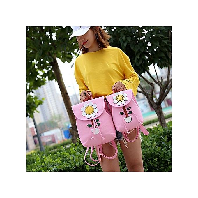 Generic Tectores mode Accessories femmes FFaibleers Fresh Simple Mini sac à dos femmes Back Pack sac à doss Girls PK à prix pas cher
