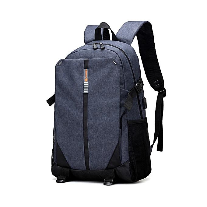 Fashion Men Oford Multifunction Travel Bag Business Casual Backpack Laptop Bag for 13.3  Laptops à prix pas cher