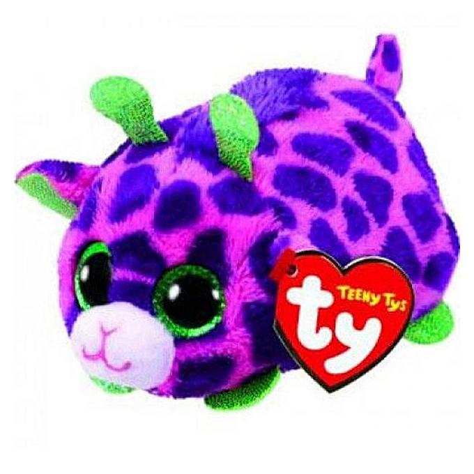 Autre Ty Teeny Tys 4&10cm Curly Pig Owl Unicorn Dog Cat Lion penguin Husky Fox Plush Stuffed Animal Collectible Soft Big Eyes Doll Toy(noir) à prix pas cher