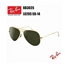 Lunettes de soleil Aviator Classic RB3025 L0205 58-14 Or Large 2702bbef9136