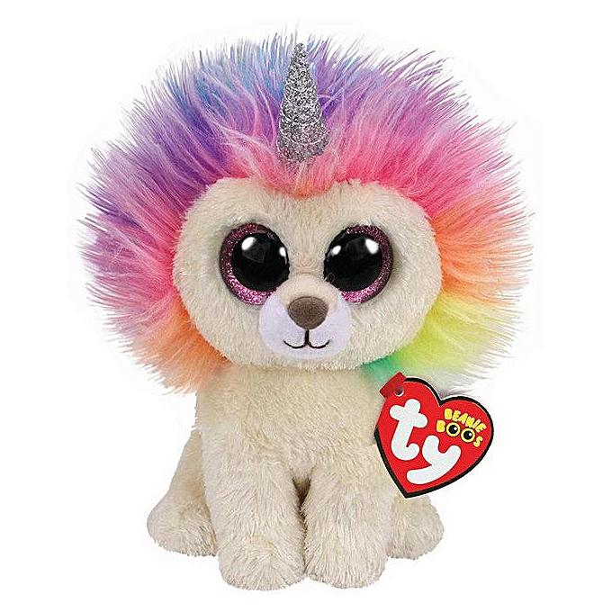 Autre TY Beanie Boos 15cm Heart Dog Olw Dange Alpaca Fox Dragon Plush Toys Big Eyes Eyed Stuffed Animal Soft Toy Enfants Gift(Couleurful) à prix pas cher