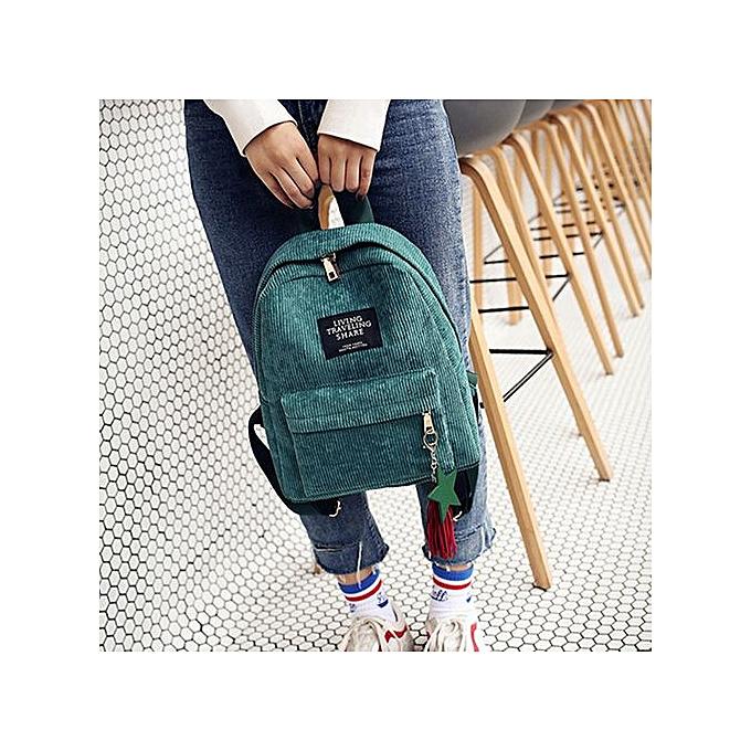 Generic Xiuxingzi_ Wohommes mode toile Tassel School sacs voyage sac à dos sac à prix pas cher