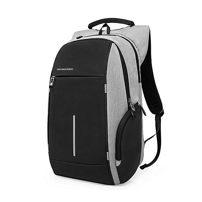 UNIVERSAL KAKA Men Oxford Laptop Backpack Anti-scratch Travel Backpack with Back Reflectors à prix pas cher