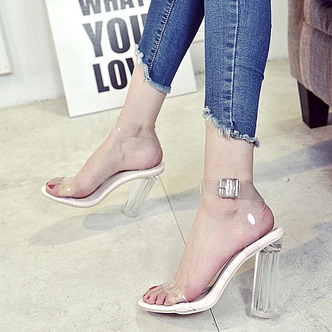 Générique  s à à à Talons pour Femmes - Heeled Shoes Sandals Clear à prix pas cher  | Black Friday 2018 | Jumia Maroc 92b894