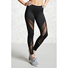 48d2d3f0ab173 Hight QualityHot Women Fashion Running Sport Yoga Pants Tight Mesh Leggings  Stretch Trousers