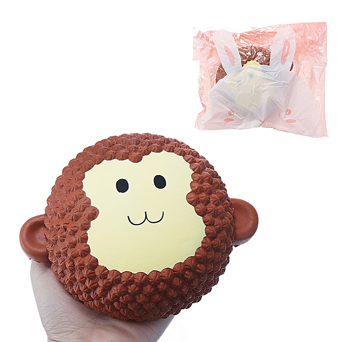 UNIVERSAL Squishy Monkey Cake 15cm Scented SFaible Rising  Packaging Collection Gift Decor - à prix pas cher